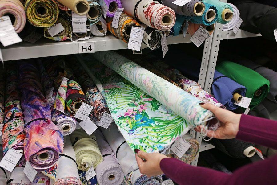 Как хранить ткани?