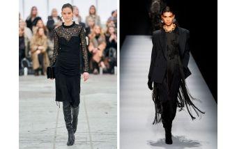 Черные платья как неизменный тренд