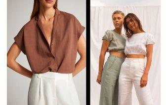 Какую одежду можно сшить из льняной ткани?