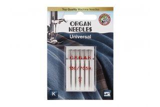 ORGAN иглы универсальные 5/80 Blister