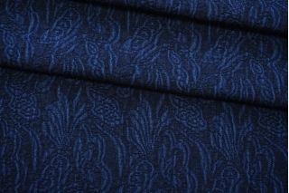 Хлопок костюмный темно-синий фактурный FRM-C70 03072031