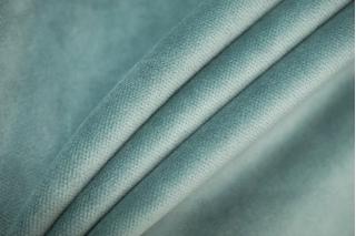 Бархат хлопковый сизо-голубой STF-A4 04082004
