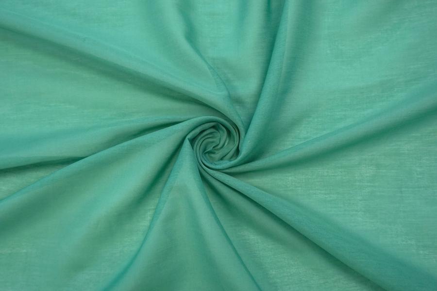 Батист хлопок с шелком зеленый  MII.H-N20 04082055