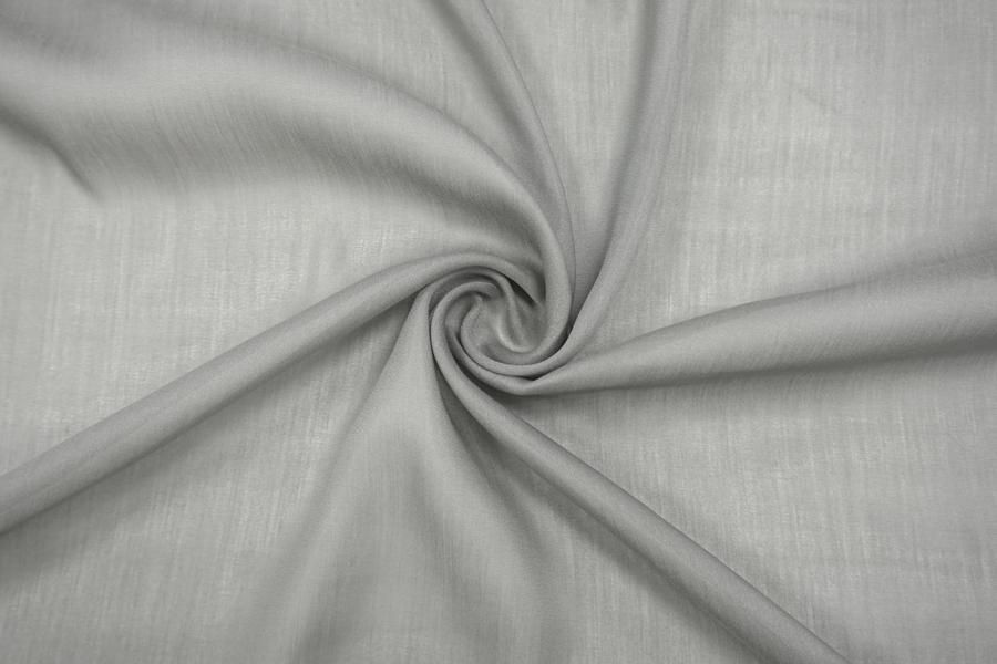 Батист хлопок с шелком серый MII-E3 04082056