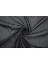 Батист хлопок с шелком черный MII-E3 04082059
