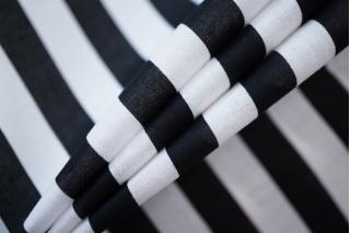 Батист в полоску черно-белый FRM-W2 05072001
