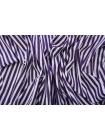 Хлопок рубашечный в полоску бело-фиолетовый FRM-A70 05072006
