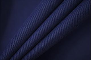 Хлопок костюмный диагональный темно-синий FRM-W1 05072013