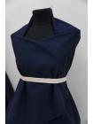 Хлопок костюмный диагональный темно-синий FRM.H-F5 05072013