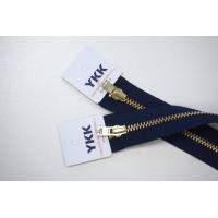 Молния джинсовая неразъемная цвет темно-синий 058 16 см YKK SK 42351-058