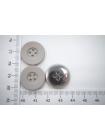 Пуговица металлическая серо-бежевая 20 мм PRT-(K)-  06082004