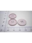 Пуговица костюмно-плательная металлическая пыльно розовая 17 мм PRT-(G)- 06082025