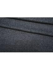 Тонкая пальтовая шерсть серая в клетку BRS-F2 07072007