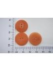 Пуговица костюмная пластик матовая приглушенно-оранжевая 20 мм PRT-(G)- 08082069