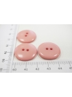 Пуговица костюмная пластик розовая 22 мм PRT-(F)- 08082072