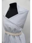 Хлопок костюмно-плательный белый с синим принтом PRT-G7 10062037