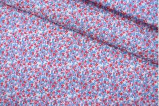 Хлопок костюмно-плательный розово-голубой PRT-X6 10062039