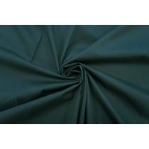 ОТРЕЗ 2,45 М Поплин темный изумрудный стрейч PRT-(43)- 10062043-1