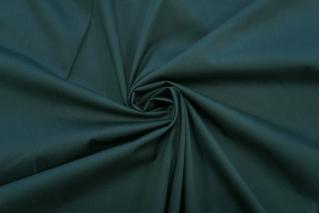 Поплин темный изумрудный стрейч PRT-X6 10062043