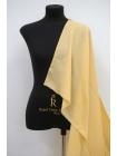 Плательная шерсть узкая приглушенно-желтая FRM-j3 10082010