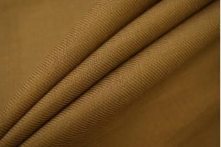 Плательная шерсть узкая коричнево-горчичная FRM-O2 10082016