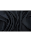 Крепдешин тонкий шелковый черный PRT-C5 11062058
