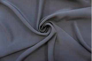 Крепдешин тонкий шелковый серый PRT-BB4 11062059