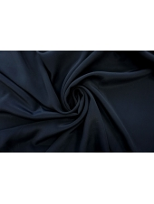 ОТРЕЗ 0,35 М Крепдешин тонкий шелковый черный PRT-(32)- 11062063-1