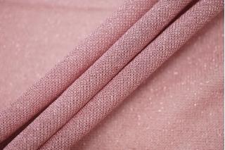 Тонкий трикотаж с люрексом розовый BRS-D5 13072007