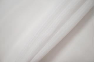 Крепдешин тонкий вискоза с шелком белый BRS-C5 13072017
