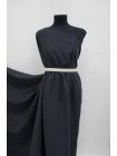 Блузочно-плательный мокрый шелк черный BRS-C6 13072030
