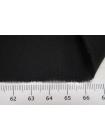 Крепдешин тонкий шелковый черный BRS-С6 13072032