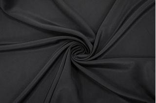Крепдешин тонкий шелковый черный BRS 13072032