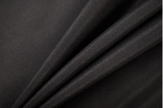 Крепдешин тонкий шелковый черный BRS 13072033
