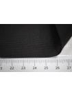 Крепдешин тонкий шелковый черный BRS-C6 13072033