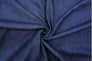 ОТРЕЗ 2,3 М Джинса-стрейч темно-синяя BRS-(10)- 13072038-1