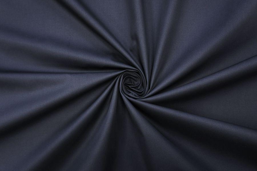 Хлопок водоотталкивающий темно-синий BRS-I3 13072043
