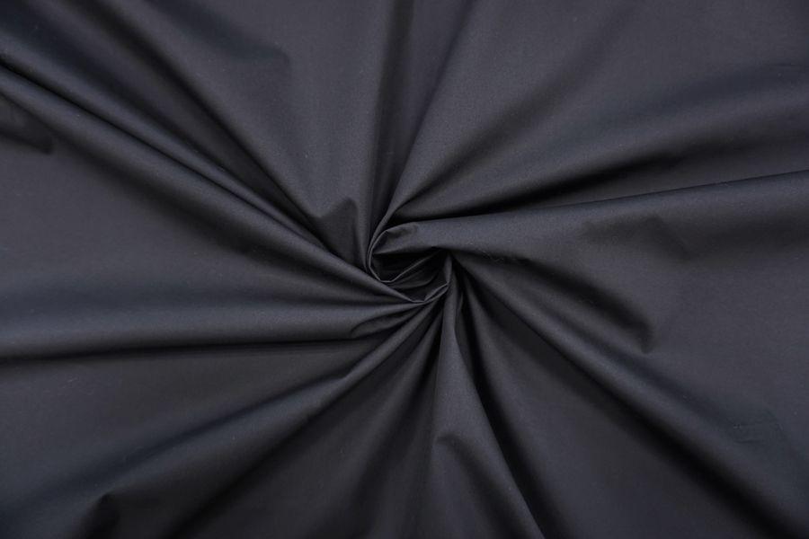 Хлопок тонкий водоотталкивающий черный BRS-i2 13072044
