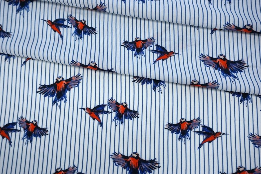 Штапель птички на полоске BRS-H4 13072048