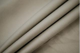 Хлопок костюмный диагональный бежевато-серый BRS-F7 13072066