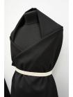 Хлопок костюмный черный BRS-F4 13072071