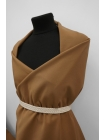 Хлопок костюмный коричневый BRS-F7 13072074