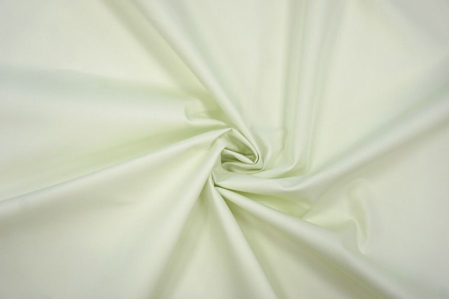 Плательно-рубашечный хлопок бледно-зеленый BRS-G4 13072084