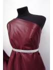 Атлас костюмно-плательный вишневый BRS-J50 14072001