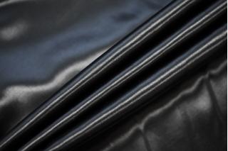 Атлас костюмно-плательный черный BRS-Z6 14072002