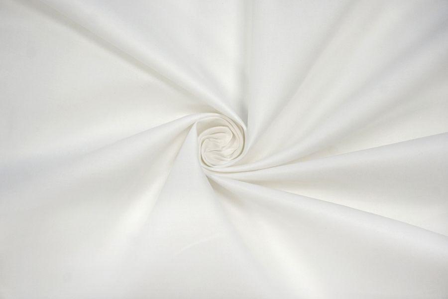 Плательный хлопок со льном белый BRS.H-C20 14072012