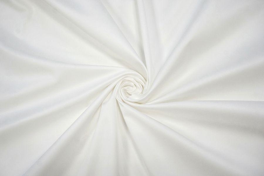 Сатин хлопковый плательный белый BRS-E7 14072014
