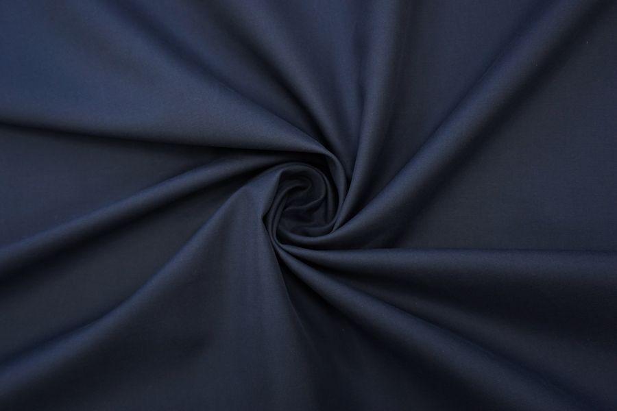 Хлопок костюмно-плательный темно-синий BRS.H-D70 14072028