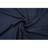Костюмно-плательная шерсть темно-синяя BRS-H2 14072037