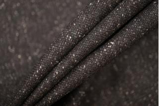 Твид костюмный темный серо-коричневый BRS-G7 14072044